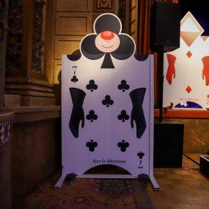 Alice In Wonderland Card Stand