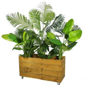 Planter Box artificial plants