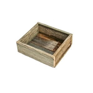 Wooden Rustic Shallow Crates
